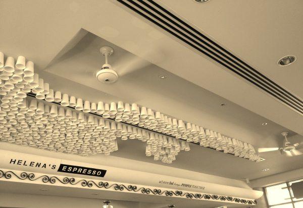Helena's Espresso 1 – Ceiling Art - 8